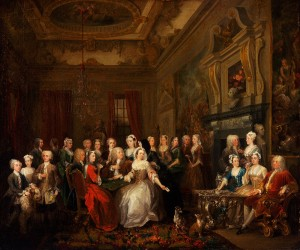 Hogarth Assembly at Wanstead House