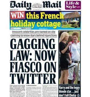 Twitter vs Super-Injunctions as celebrity naming goes viral