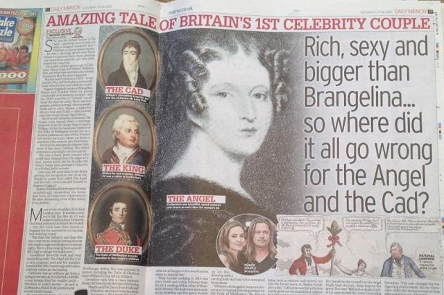 Britain's first celebrity couple: bigger than Brangelina